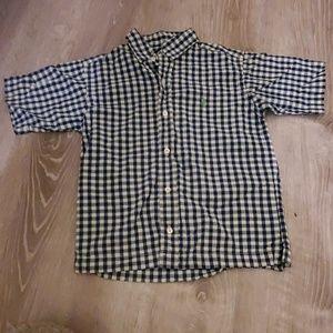 Ralph Lauren  size 6 short sleeve boys shirt